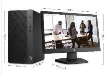 图片 惠普 HP 285  AMD PRO A6-9500(3.5GHz/1M/2核)/4G/500G(SATA)/DVDRW/20.7寸显示器