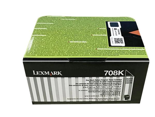 图片 利盟(Lexmark)70C8HK0 黑色碳粉盒 大容量 适用于:CS310 CS410 CS510