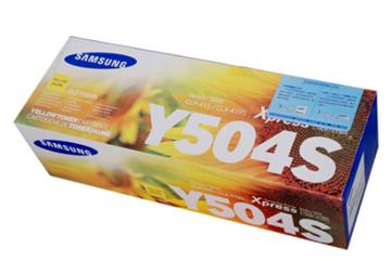 图片 三星(Samsung)CLT-Y504S 黄色 粉盒 适用于CLP-415N CLX-4195N/4195FN