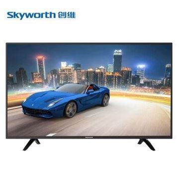 图片 创维(skyworth)43E381S 43英寸2K蓝光液晶电视机 不支持网络连接 1920x1080分辨率 LED显示屏 二级能效 配底座 包安装 一年保修 黑色
