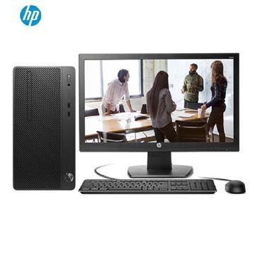 图片 惠普 HP ProDesk 480 G5 MT-N9021030059 台式电脑 I5- 8500 8G DDR4 1T 2G独立显卡 DVDRW 麒麟操作系统(桌面版)V4 三年保修 +21.5寸显示器