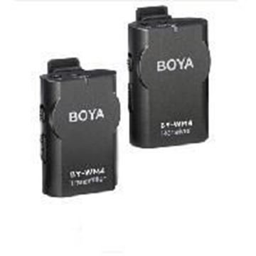图片 博雅(BOYA) 博雅 BY-WM4无线领夹式话筒 直播无线麦克风