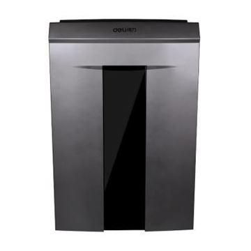 图片 得力(DELI)14461 碎纸机 连续碎纸40分钟 单次碎纸6张 20升纸箱容量 五级保密 碎状2*12mm米粒状 一年保修