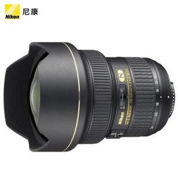 """图片 尼康(Nikon) AF-S 尼克尔 14-24mm f/2.8G ED """"大三元""""广角变焦镜头 尼康镜头"""