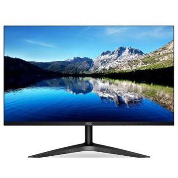 图片 AOC 24B1XHS 23.8英寸液晶显示器 HDMI/VGA接口 1920x1080分辨率 IPS面板 屏幕比例16:9 三年保修