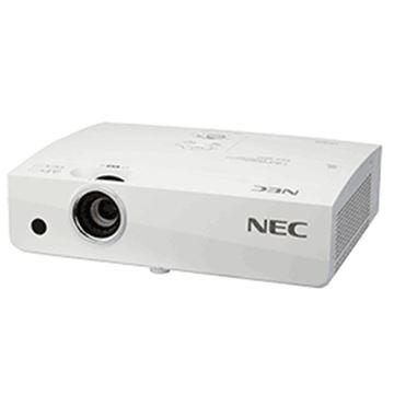 图片 NEC投影仪办公/投影机便携/挂式 /NP-CA4160X /3700流明/1024*768 /三片LCD/变焦/XGA(1024*768)/无幕布/最大使用300英寸幕布