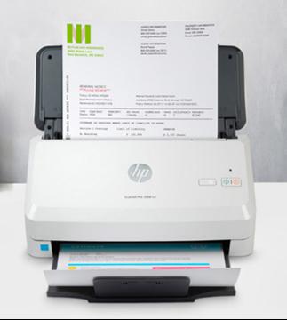 图片 惠普(HP)2000 s2 馈纸式文档扫描仪 高速双面扫描 50页ADF进纸器 2000s1升级款 标配